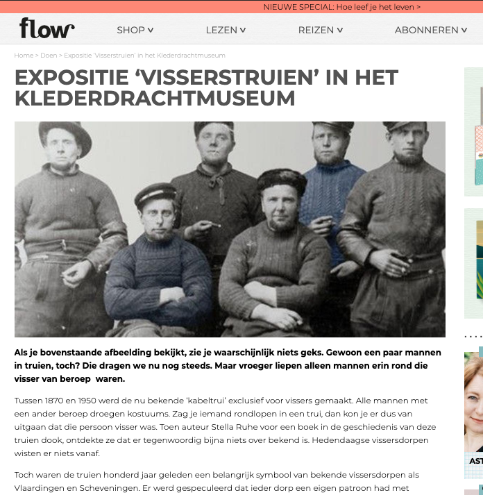 pers klederdracht museum Flow