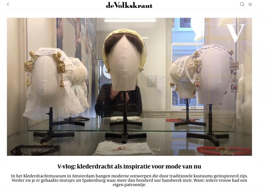 v-vlog volkskrant klederdrachtmuseum